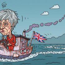 """Theresa May en aprietos: ministros amenazan con dimitir si la premier no descarta un """"brexit"""" sin acuerdo"""