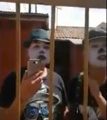 Mimos son acusados de tomarse una casa y esto pasó cuando fueron a desalojarlos
