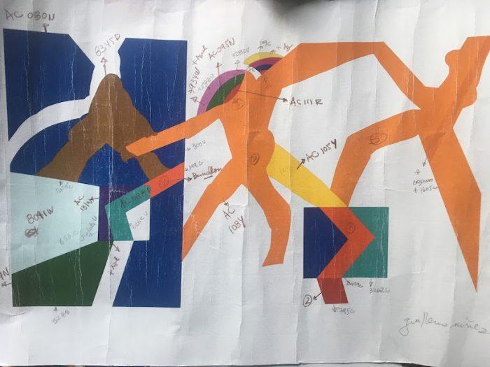 Mono González revive mural desaparecido de la UNCTAD III