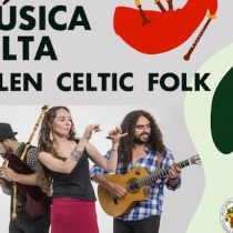 Música celta en vivo con Allen Celtic Folk en Castillo de Niebla, Valdivia