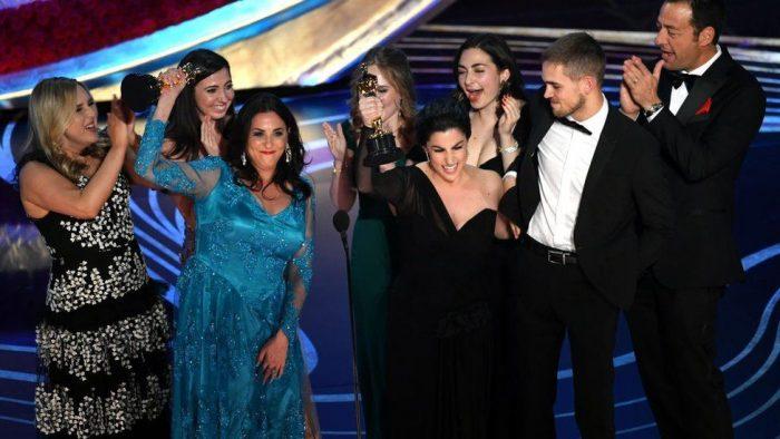 """Period. End of Sentence: """"No puedo creer que un documental sobre la menstruación acaba de ganar un Oscar"""""""
