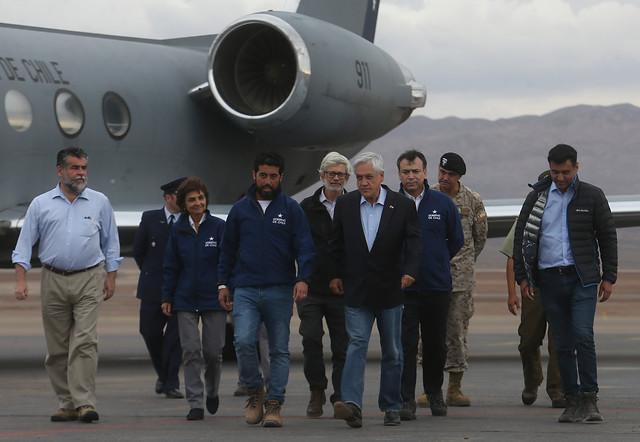 Provincia de El Loa es oficialmente zona de catástrofe: Piñera anuncia decreto