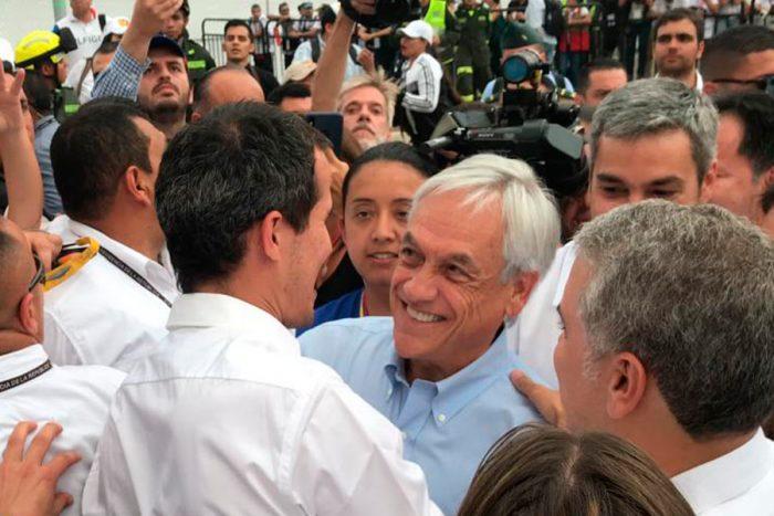 Cadem lanza un salvavidas a Piñera: 53% apoya viaje a Colombia