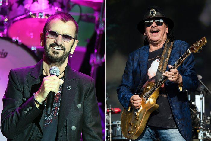 Ringo Starr y Carlos Santana liderarán Festival Woodstock en su aniversario de medio siglo