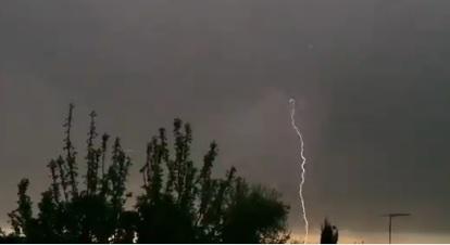 Sorpresiva tormenta eléctrica se registró en sectores de la Región de Ñuble y del Maule