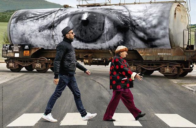 """Película """"Rostros y lugares"""" de Agnès Varda y J.R. en Cine Arte Normandie"""