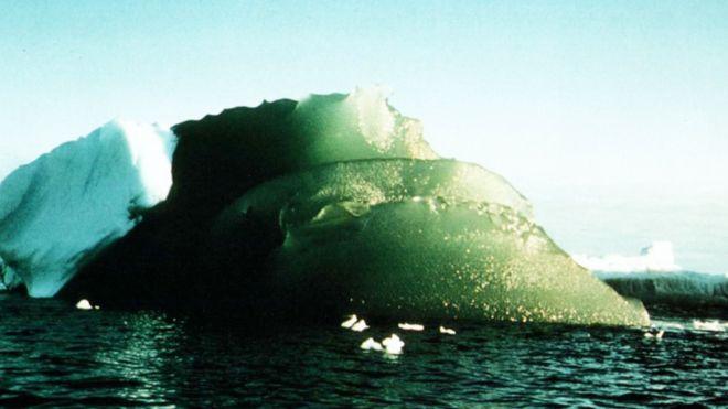 Revelan el misterio y la importancia de los icebergs verdes de la Antártica