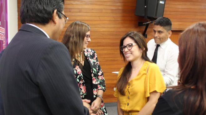 La peruana a la que impidieron abortar un feto anencefálico hace 17 años y que recibió las disculpas del Estado