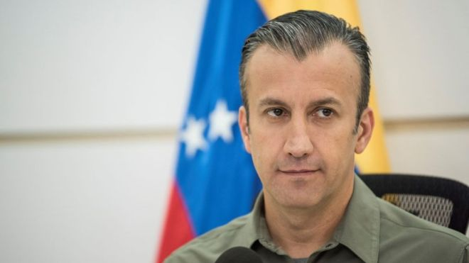 EE.UU. acusa a Tareck El Aissami, exvicepresidente ejecutivo de Venezuela y ministro de Industrias, de violar las sanciones que le impuso por presunto narcotráfico