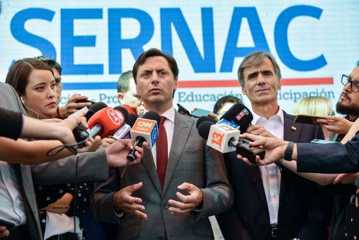 Ministro Valente valoró entrada en vigencia de la Ley Sernac