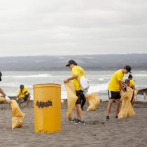 Jornada de limpieza en Pichilemu