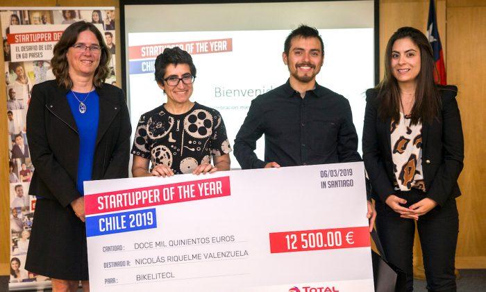 App chilena para ciclistas gana competencia continental de emprendimiento