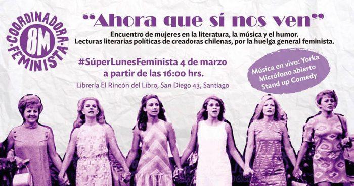 Encuentro de mujeres en la literatura, la música y el humor en Rincón del Libro