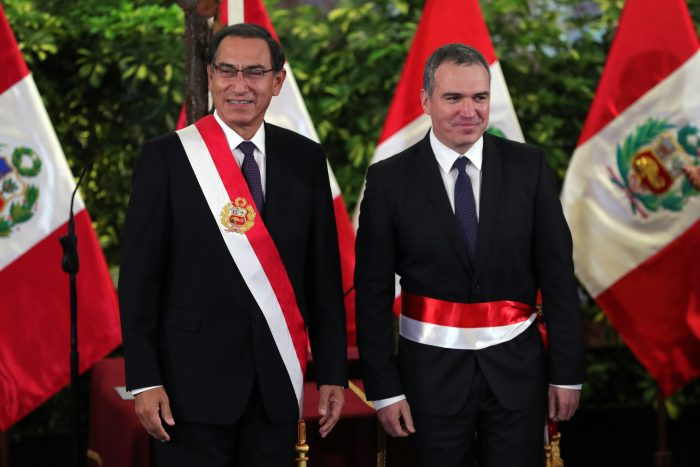 Popular actor y director de cine jura como nuevo primer ministro de Perú