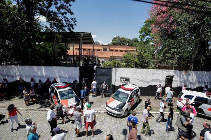 Suben a diez los muertos en ataque a escuela en ciudad brasileña de Suzano
