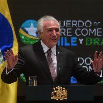 Expresidente brasileño Michel Temer detenido por causa vinculada a Lava Jato