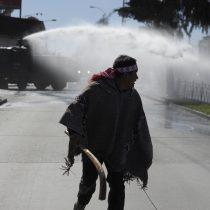 Detienen a 15 personas en Temuco en marcha mapuche no autorizada