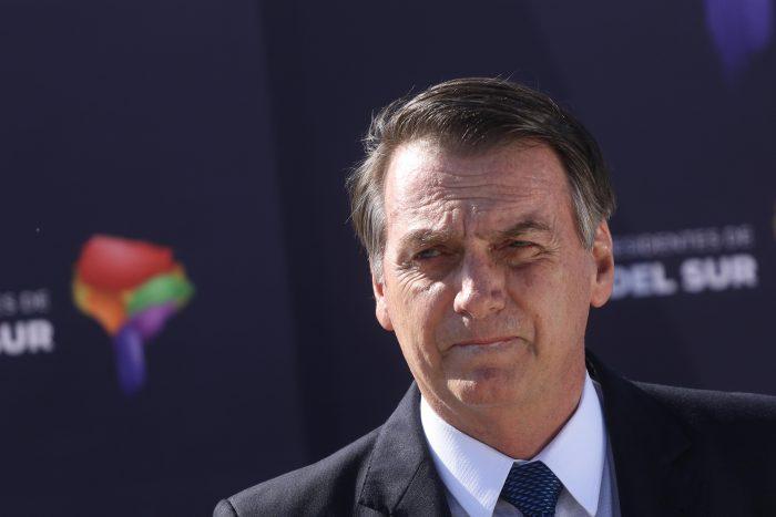 Jair Bolsonaro aterriza en Chile: