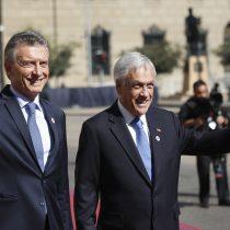 Piñera y Macri celebran la aprobación de acuerdo comercial bilateral