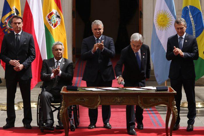 Gobierno confirma salida definitiva de Chile de Unasur