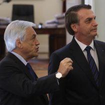 """Piñera defiende visita de Bolsonaro y asegura que hubo intentos de """"boicotearlo"""""""