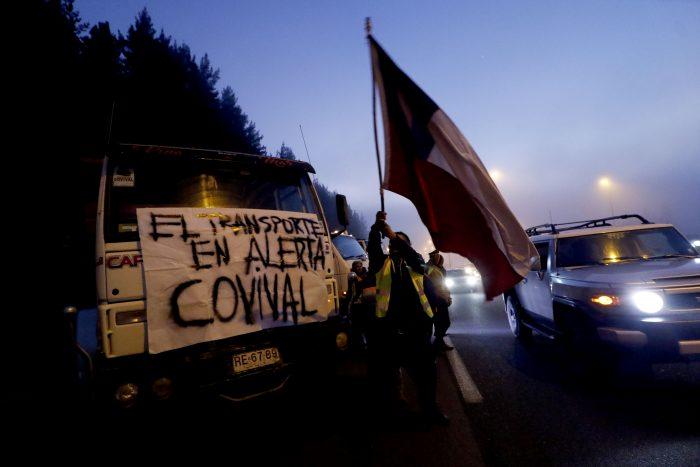 Empresa Portuaria Valparaíso asegura no comprender causas de protesta de transportistas en la ruta 68