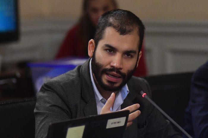 Diputado Renato Garín hace oficial su renuncia a Revolución Democrática