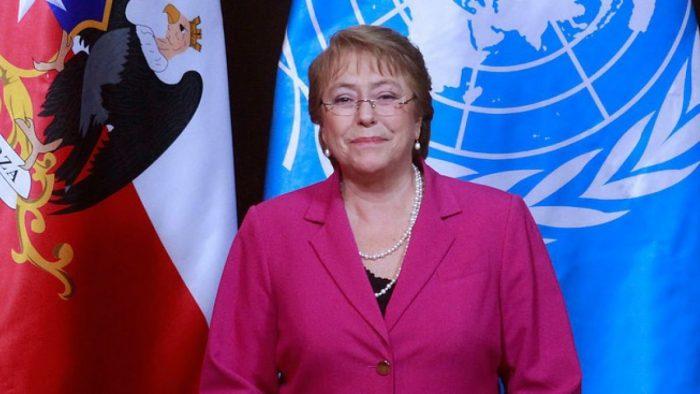 """Bachelet pide a los líderes del mundo """"posicionarse contra el machismo"""" y promover """"la aceptación de la diversidad"""""""