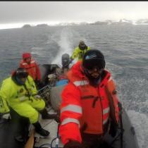La bitácora antártica del doctor Höfer: la furia de las olas