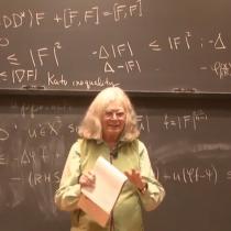 Karen Uhlenbeck, la mujer