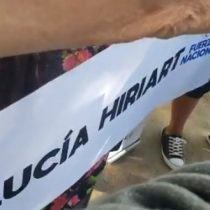 """Insólito: """"rebautizan"""" estación de metro Escuela Militar con el nombre Lucía Hiriart porque """"representa los verdaderos y auténticos valores de la mujer chilena"""
