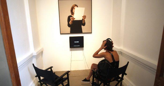 """Recorrido guiado exposición """"Cuídese Mucho"""" de artista Sophie Calle en Museo de Arte Contemporáneo"""