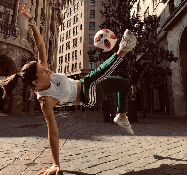Bicampeona chilena de fútbol freestyle será parte del elenco de Cirque du Soleil