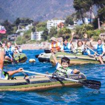 Remando Tour llega a Santiago con un entretenido panorama solidario