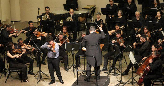 Concierto de Apertura en Teatro U. de Concepción