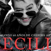Cecilia La Incomparable: concierto en homenaje a sus 60 años artísticos en Club Chocolate