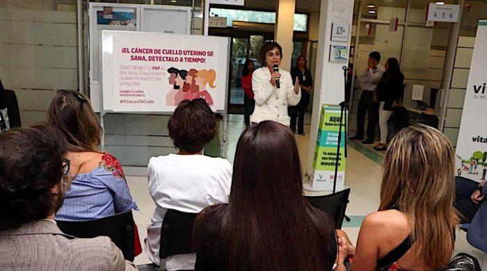 Lanzan campaña con PAP gratuitos para mujeres