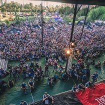 Festival outdoor en Parque Bicenentario para fanáticos de escalada