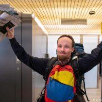 Billy Six, el periodista liberado en Venezuela, vuelve a Alemania