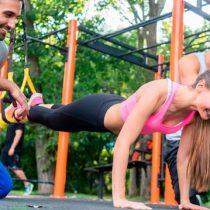 Calistenia: el deporte fitness que se toma las plazas y parques del país