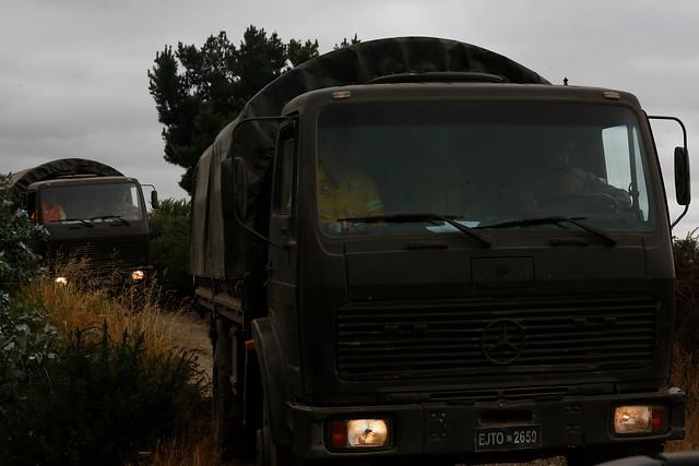Camión del Ejército volcó en Alto Bío Bío: corrigen información oficial sobre las víctimas