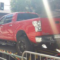 Detienen a hombre que intentó irrumpir en La Moneda conduciendo una camioneta