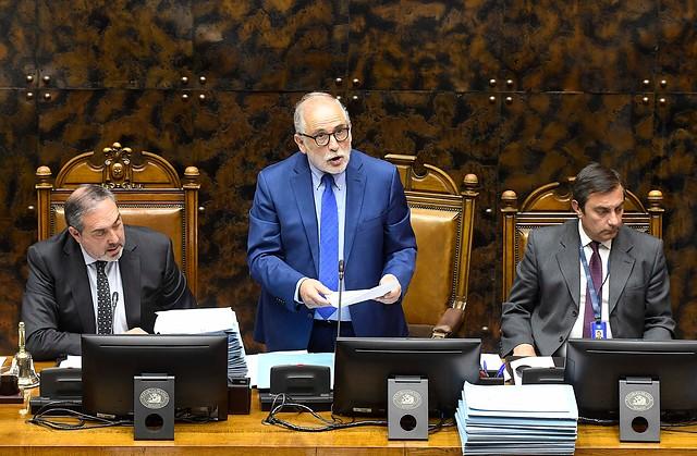 """Montes en su despedida de la mesa del Senado: """"No podemos seguir creyendo que nuestra democracia estará siempre a resguardo del populismo"""""""