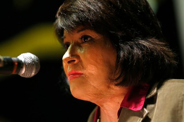 Carmen Gloria Quintana en picada contra