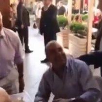 ¡Bravo presidente!: el fugaz encuentro entre Jair Bolsonaro y Checho Hirane en un mall de Las Condes
