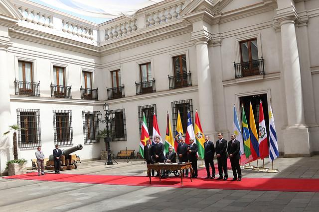 Expresidente colombiano le pone la lápida a Prosur, la iniciativa estrella de Piñera y Duque