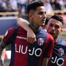 Erick Pulgar sigue creciendo en Italia: marca gol que mantiene a su equipo con vida en el torneo
