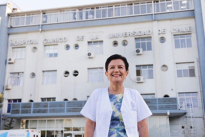 Histórico: doctora Graciela Rojas es la primera mujer en dirigir el Hospital Clínico de la U. de Chile