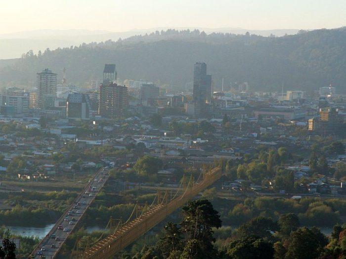 Ciudades chilenas encabezan ránking de las urbes con peor calidad de aire del continente el 2018