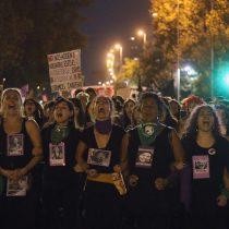 Desde la marcha por el 8M: Macarena Segovia, periodista de El Mostrador, reporta los detalles del cierre de la exitosa jornada